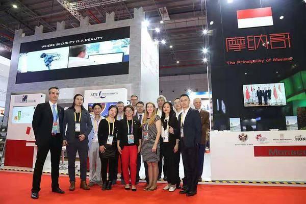 摩納哥國家代表團率Therascience參加第二屆中國國際進口博覽會