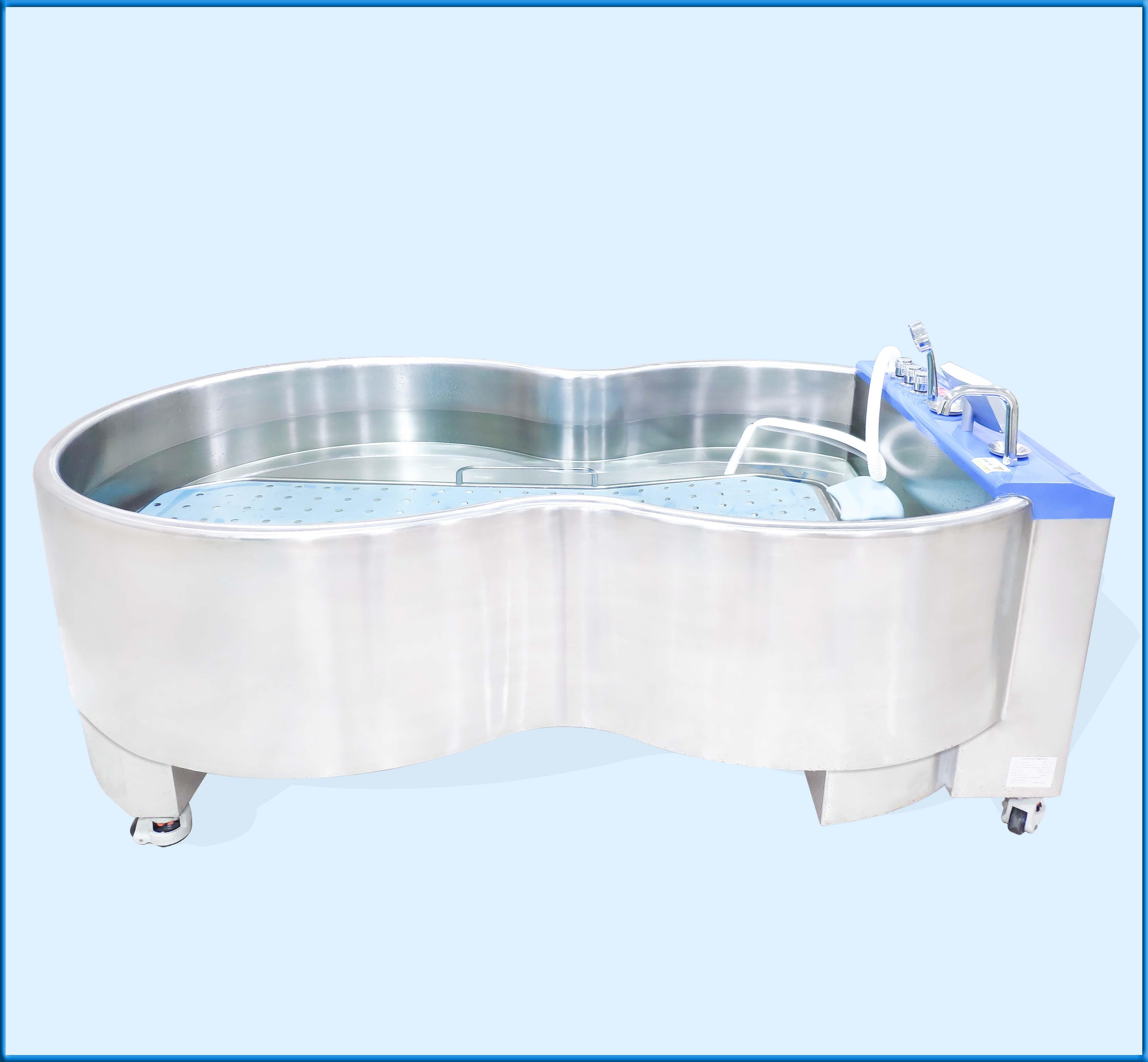 醫用浸浴治療機(蝶形浴槽)