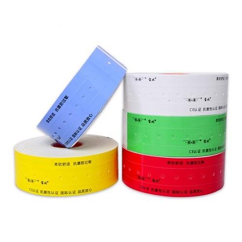 醫用條碼熱敏熱轉印打印腕帶 柔軟抗菌